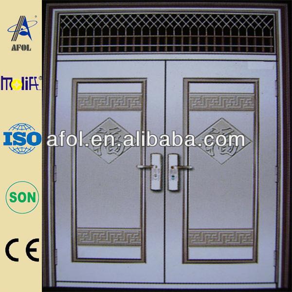 Hot sale High quality steel lattice door