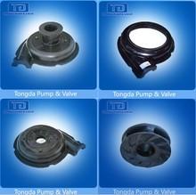 Slurry Pump Parts Nature Rubber Flow Parts