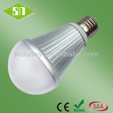Indoor Light 7W 600Lumens low heat no uv led light bulb