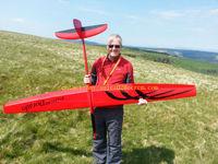 All moulded rc sailplane glider! aerobatic Dorado carbon fiber balsa wood rc plane kit