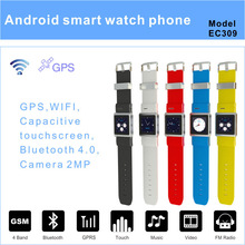 2013 The Hottest 3G Android 4.0 Watch Phone With WIFI EC309