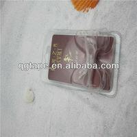 Shanghai QG bra shoulder strap adjuster with transparent tpu tape