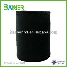 Black Neoprene bottle sleeves