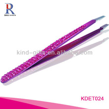 Wholesale Custom Logo Crystal The Best Tweezers For Promotional Gift