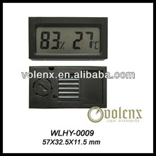 China Black Digital Hygrometer Cigar ( SGS&BV)