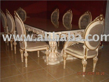 Victory Solid Wood Dining Table and Chair Set