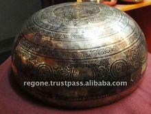 Tibetan Carving Handmade singing bowls