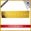 shantui bulldozer sd16 heavy duty spareparts straight blade cutting edge with high tech
