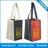 Heat-tranfer printing High Quality Non Woven Wine Bag