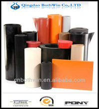 smooth surface both sides SBR Rubber Sheets / mesh neoprene rubber