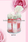 Heart to Heart valentine bath gift set(HT-038)