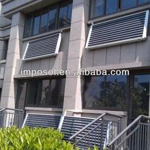 balcony hanging U pipe solar heating system/solar power system /solar collector