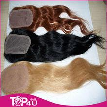 2013 new arrival best sale 100% human hair lace closure