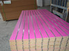 MDF consists of melamine resin impregnated paper 4X4