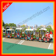 Christmas gift track train amusement park trains for sale