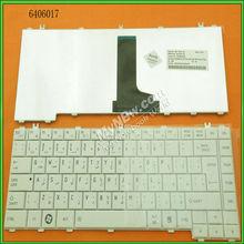 Replacement laptop keyboard for TOSHIBA L600 L630 L640 L640D L645 L645D WHITE Layout Arabic