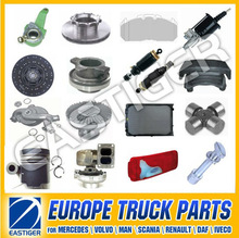 Over 500 items MAN TGA parts truck