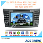 AGS special 8'' car dvd for Mercedes-Benz W211