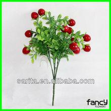2013 new design pure handmade artificial cherries