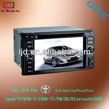 HD audio car system Toyota land cruiser Vitz