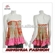 2014 Wholesale Cheap High quality black plain Sexy open blouse pictures