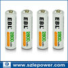 Good quality Batteries aa made in China OEM rechargeable batteries aa