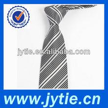 Grey Color Striped Neckties