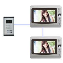 Two door station Access control 7inch video and audio video door phone commax