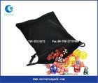 Anti-shockness lace velvet pouch drawstring customized