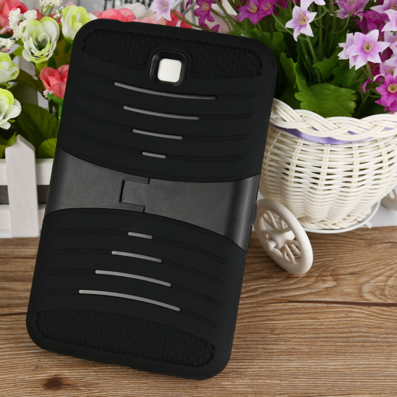 Fashion Desk Cell Phone Cover For Samsung Galaxy Tab3 Kickstand Case