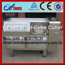 Beef, chicken and pork meat cube cutter machine