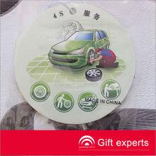 Cheapest 2013 Logo Printed car air freshener perfume