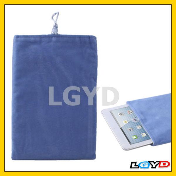 Fashion design Soft Material Portable bag for iPad mini