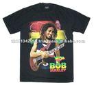 Bob Marley Rasta t-shirt. Reggae t-shirt.