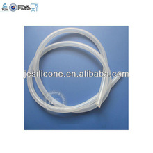 Rubber silicone tube in colors