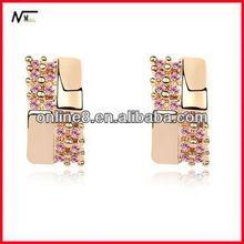 Free Shipping good service Earrings,new model earrings,Fashion Earrings antique wedding & ruby gold platedearrings & ring set