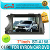 LSQ Star Car Dvd Player For Ssang Yong Kyron Wholesale With 3g And Gps Navigation System/3g/bt/radio/dvd/mp3/mp4/ipod/6v Cdc.