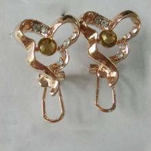 gold earring /ladies earrings designs pictures /golden earring designs for women