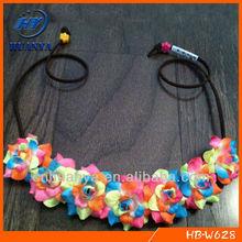 Electric Rose Flower Headband Flower Crown Flower Halo Festival Wear