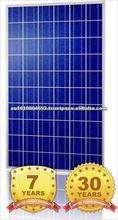 BBPV 210W PV Solar Module Polycrystalline Silicon Solar Panel