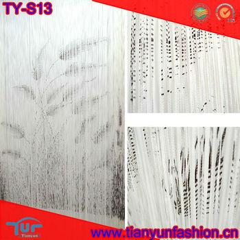 Reed line shade spaghetti string curtain