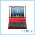 Gtide silicone bluetooth keyboard for ipad mini pu leather keyboard case