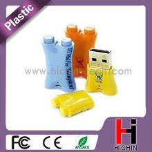 Innovative design plastic drive 8gb usb flash sticks USB3.0