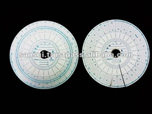 Chart paper for tachograph