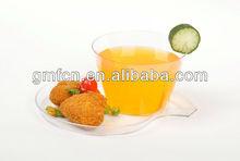 renkli dekoratif Yeni tasarım sıcak satış Plastik Ucuz Plastik çay dökme bardak ve tabaklar