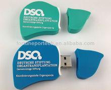 custom design liver usb flash drive medical