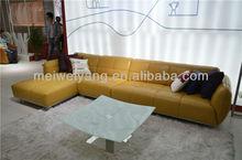 WOCHE nicoletti furniture corner leather sofa,leather sofas and home furniture,u-shaped sofas WQ6909