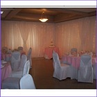 New Pipe and Drape backdrop wedding decoration