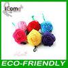 Reusable bag/Reusable shopping bag/flower reusable shopping bag folding nylon bag