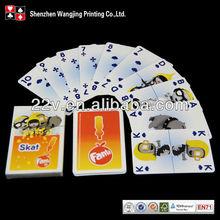 oem novelty playing cards/poker cards, oem novelty poker card